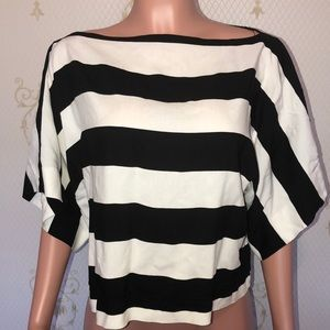 Zara 🔥 Black & White Blouse 🔥 Medium